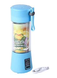 380ml Electric Portable Blender and Juicer Cup, ZM572001, Blue