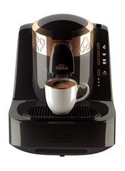 Arzum 1L Okka Electric Turkish Coffee Maker, 710W, OK001B, Black/Copper