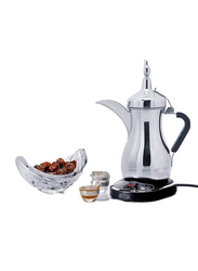 Dalla Arab 800ml Stainless Steel Electric Arabic Coffee Maker, 1000W, JLS-170E, Silver