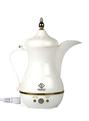 Dalla Arab 400ml Travler Plastic Electric Arabic Coffee Maker, 850W, JLR-170E3, White