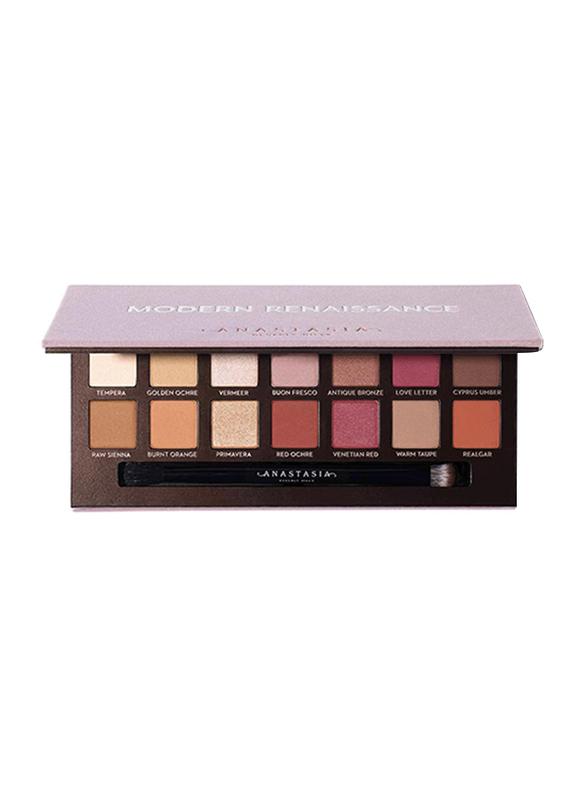 Anastasia Beverly Hills 14-Shades Modern Renaissance Eye Shadow Palette, Multicolor