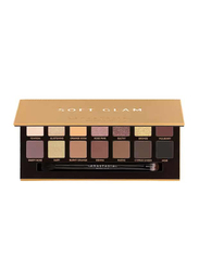 Anastasia Beverly Hills 14-Shades Soft Glam Eye Shadow Palette, Multicolor