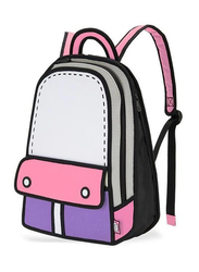 Jump From Paper 13-Inch Adventure Backpack Bag for Women, Pink