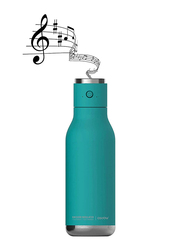 Asobu 17oz Double Wall Insulated Stainless Steel Water Bottle with Wireless Speaker Lid, ASB-BT60, Turquoise
