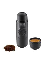 Wacaco Minipresso Hand Powered Espresso Coffee Machine for Ground Coffee, WC-MINIP-GR, Black