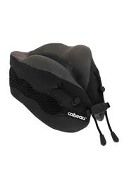 Cabeau Evolution Cool Air Circulating Head and Neck Memory Foam Cooling Travel Pillow, Black