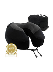 Cabeau Evolution S3 Memory Foam Pillow with Zippered Storage Case, Jet Black