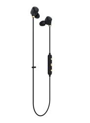 Happy Plugs Earpiece II Wireless In-Ear Headphones, Black Gold
