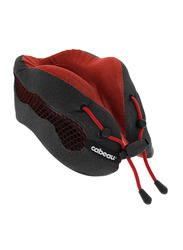 Cabeau Evolution Cool Air Circulating Head and Neck Memory Foam Cooling Travel Pillow, Red