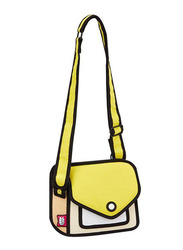 Jump From Paper 6.3-Inch Junior Giggle Shoulder Bag for Women, Minion Yellow