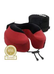 Cabeau Evolution S3 Memory Foam Pillow with Zippered Storage Case, Cardinal