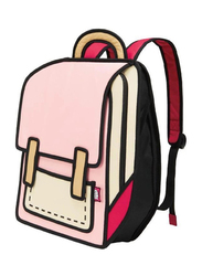 Jump From Paper 13-Inch Spaceman Backpack Bag for Women, Coo Coo Pink