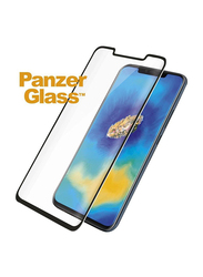 PanzerGlass Huawei Mate 20 Pro Black Curved Edges Case Friendly Mobile Phone Screen Protector, Black