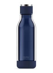 Asobu 17oz Inner Peace Glass & Tritan Encased Travel Water Bottle, ASB-GT50, Blue