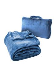 Cabeau Fold 'n Go Blanket, Royal Blue