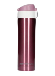 Asobu 443ml Diva Insulated Vacuum Beverage Thermos Container, Pink/White