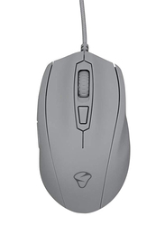 Mionix Castor Ergonomic Optical 6 Button RGB Gaming Mouse, Shark Fin, Grey
