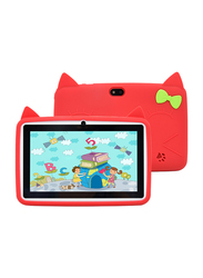 Wintouch K75 8GB Red 7-inch Kids Tablet, 512MB RAM, WiFi Only
