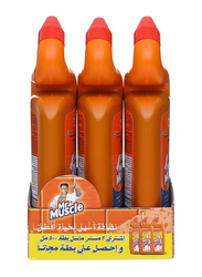 Mr Muscle Duck Block Toilet Cleaner, 3 Pieces, 500ml