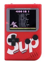 Sup 400-in-1 Portable Retro Console, Red