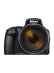 Nikon Coolpix P1000 DSLR Camera, with 24-3000mm Equiv. F2.8-8 Lens, 16.7 MP, 3.2 Inch LCD, Black
