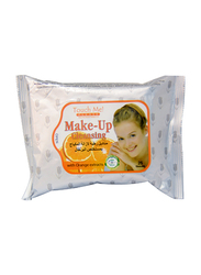 Touch Me Please Make Up Cleansing with Orange Extract, 25 Sheets, White