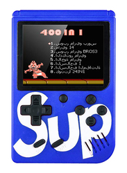 Sup Retro Portable Mini Handheld Game Console, with 400-in-1 Games, Blue