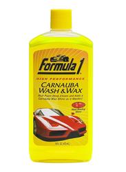 Formula 1 Wash & Wax, 473ml