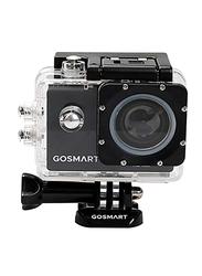GoSmart Icon 7 Action Camera, 16 MP, Black