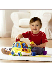 Vtech Sort and Learn Car Toy, 80-070103, Multicolour