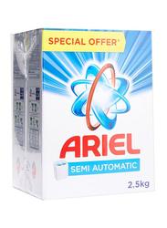 Ariel Semi Automatic Washing Powder, 2 x 2.5 Kg