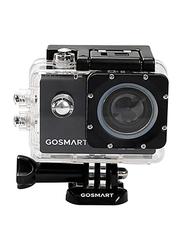GoSmart Icon 7 Plus Action Camera with 12 MP, Black