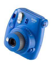 FujiFilm Instax Mini 9 Instant Film Camera, with 60mm f/12.7 Lens, With 20 Mini Film Sheets, Dark Blue