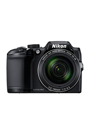 Nikon Coolpix B500 DSLR Camera, with 6.5mm f/3.0 ED Lens, 16 MP, with 40x Optical Zoom, Black