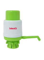 Selecto Eco-Logic Bottom Load Manual Water Pump Dispenser, S1999, White/Green
