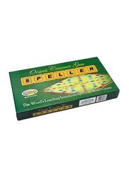 Euro Original Speller Scrabble Crossword Board Game, 5+ Years, Multicolour