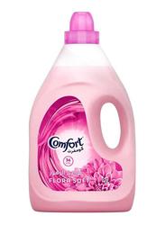 Comfort Flora Soft Fabric Softener, 2 Bottles x 4 Litre