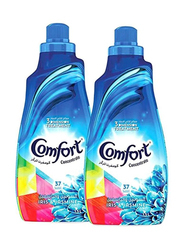 Comfort Concentrated Fabric Softener, 2 Bottles x 1.5 Litre