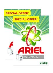 Ariel Special Offer Detergent Powder, 2 x 2.5 Kg