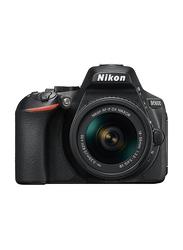 Nikon D5600 DSLR Camera, with AF-P 18-55mm Lens Kit, 24.2 MP, Black