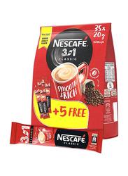 Nescafe 3-In-1 Classic Coffee Sachet Sticks, 40 Piece x 20g