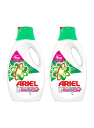 Ariel Automatic Touch of Freshness Power Gel Laundry Detergent, 2 Bottles x 2 Litre