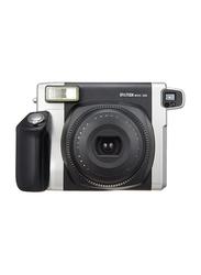 FujiFilm Instax Wide 300 Instant Film Camera, with 95mm f/14 Lens, Black/Silver