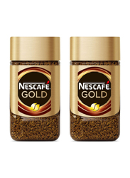 Nescafe Gold Instant Soluble Coffee, 2 x 50g