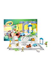 Crayola Crayon Zoo Town Large Mat Set, 67008, Multicolour