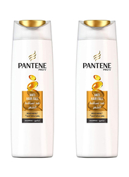 Pantene Pro-V Anti-Hair Fall Shampoo for Damaged Hair, 400ml, 2 Pieces