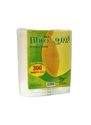 Canny 2-Ply Libro Kitchen Towel, 300 Sheets