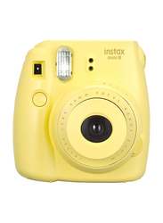 FujiFilm Instax Mini 8 Instant Film Camera, With 60mm f/12.7 Lens, 30.4 MP, Yellow