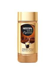 Nescafe Coffee Gold Espresso Italian Style, 100g