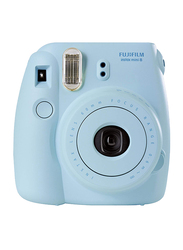 FujiFilm Instax Mini 8 Instant Film Camera, With 60mm f/12.7 Lens, 30.4 MP, Light Blue